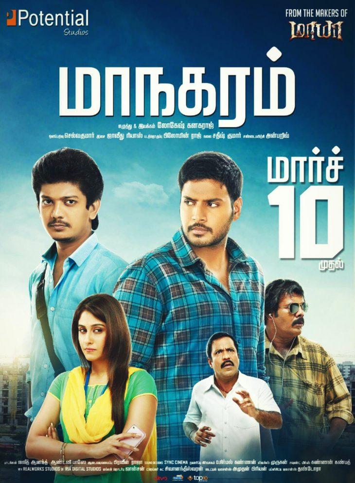 Maanagaram (Tamil) Theaters List